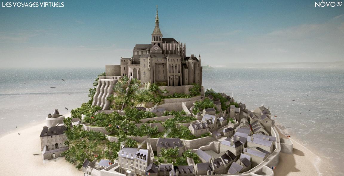 Mont Saint Michel, 20ème siècle