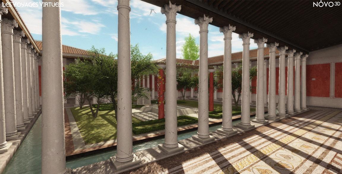 Maison des Dieux Océan, 3ème siècle