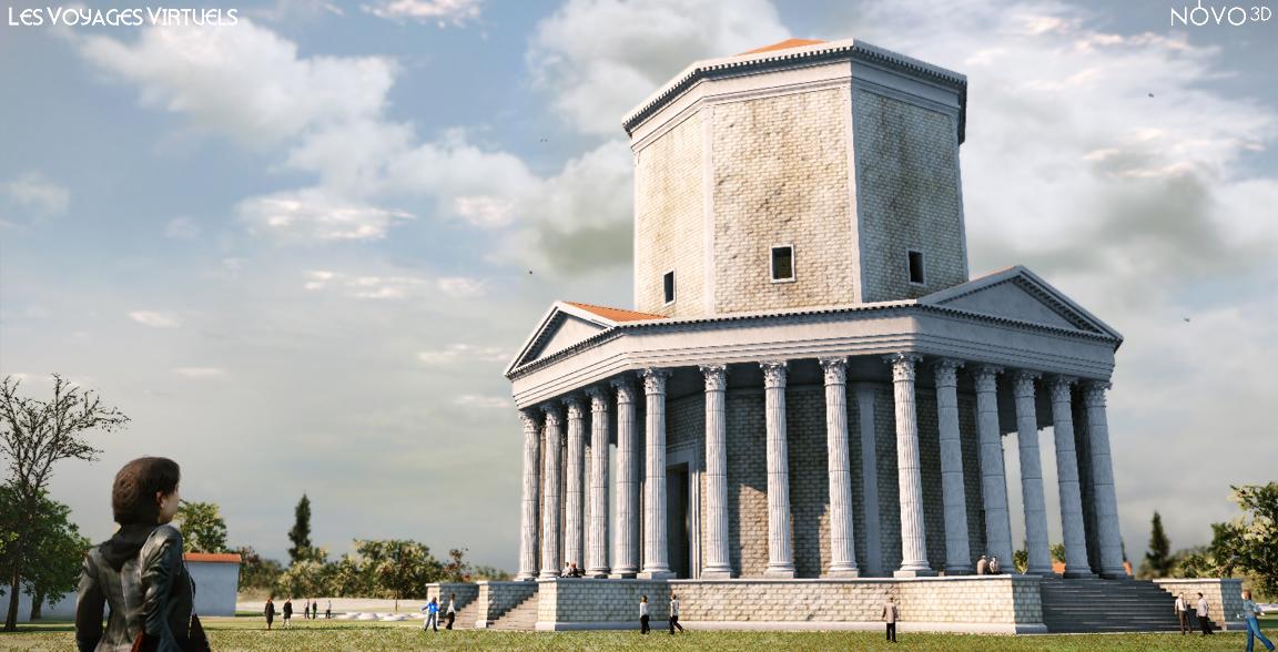 Temple de Montélu, 2ème siècle