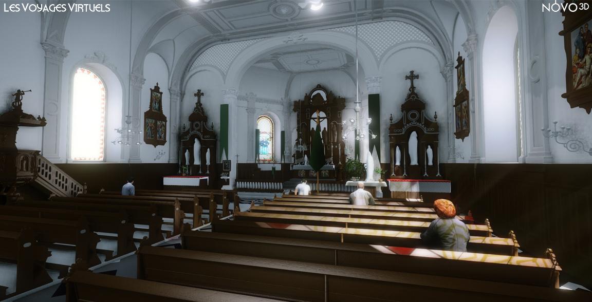 Eglise de Bliesbruck - 1930