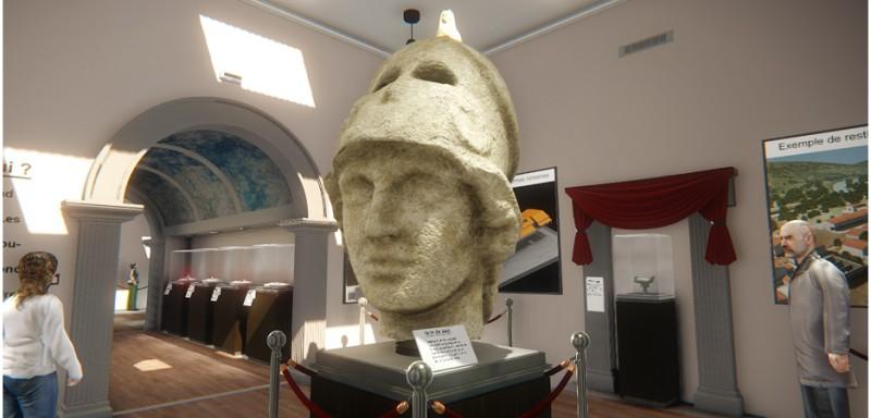 Vue du Musee Virtuel